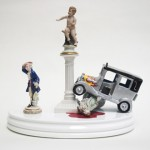 Barnaby Barford mirrors and figurines