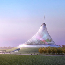 Foster to erect big tent in Kazakhstan