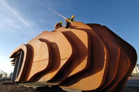 Thomas Heatherwick beach cafe