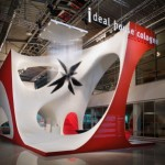 Zaha Hadid at IMM Cologne