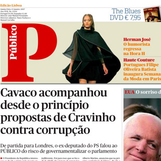 Público gets Guardian-style makeover