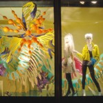 RCA graduates in Harvey Nichols windows