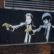 Banksy masterpiece destroyed by vandals