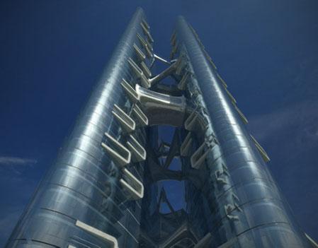 Moscow Expocenter by Zaha Hadid