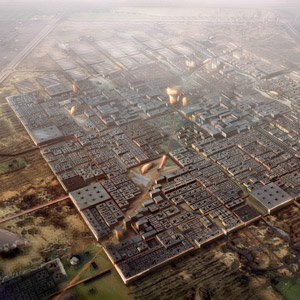 Zero-carbon city by Foster + Partners
