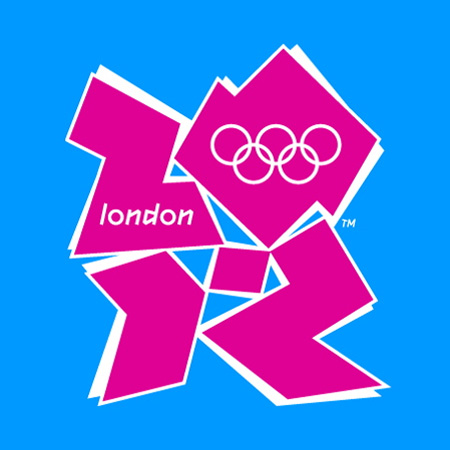 London 2012 Olympics logo by Wolff Olins