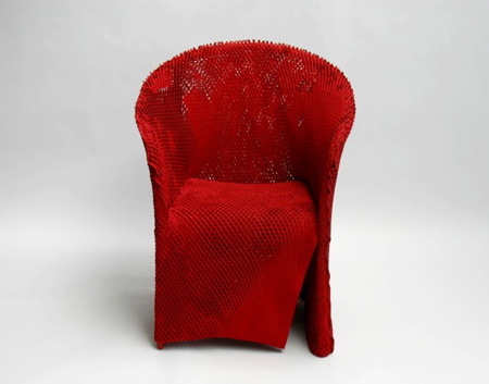 Kimono Chair by Tokujin Yoshioka