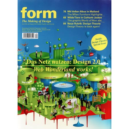 Dezeen in Form magazine