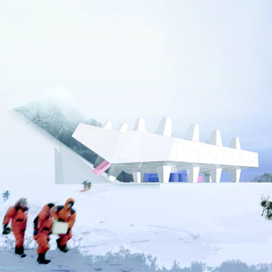 Mammoth and Permafrost Museum by Leeser Arch.