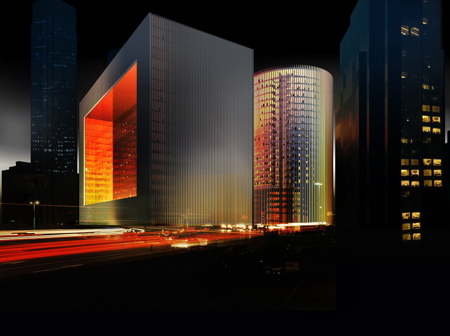 Porsche Design Towers by OMA/Porsche Design