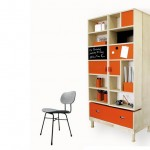 Golden Time Cupboard by Lola Lely