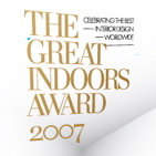 The Great Indoors Award 2007