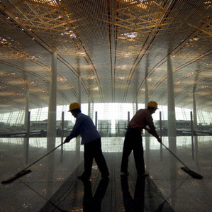 dezeen_Beijing airport by Foster + Partners_1