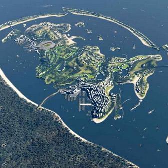 Federation Island by Erick van Egeraat