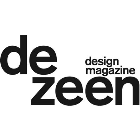 dezeen's new logo