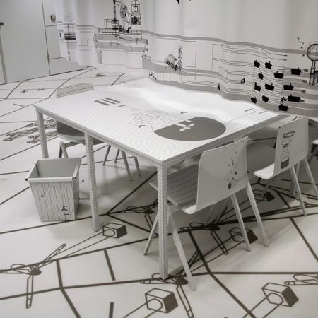 Roc Apeldoorn classroom by Jurgen Bey