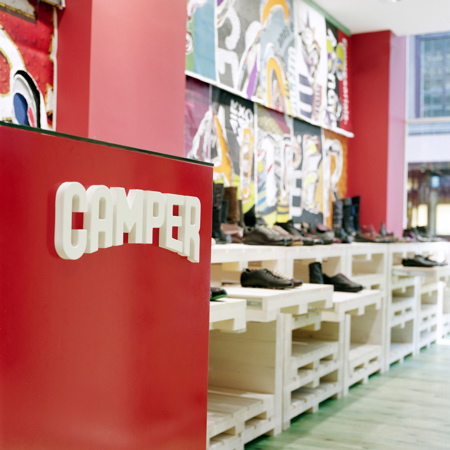 Camper store in London by the Campana Brothers