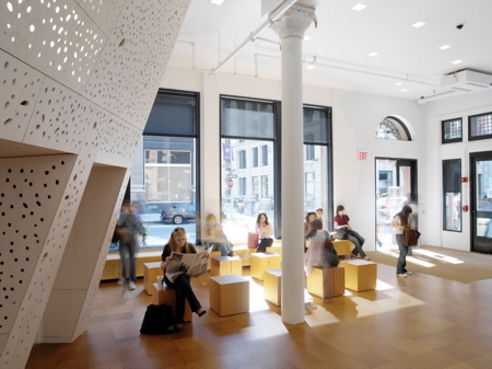 Nyu department of philosophy by steven holl architects for Nyu tisch design
