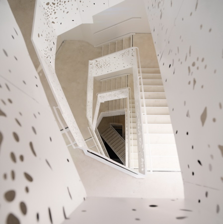 NYU Department of Philosophy by Steven Holl Architects