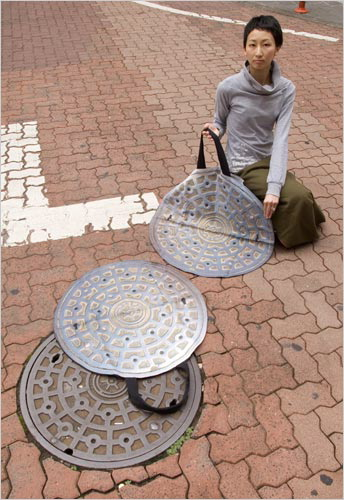 sewer-cover bag