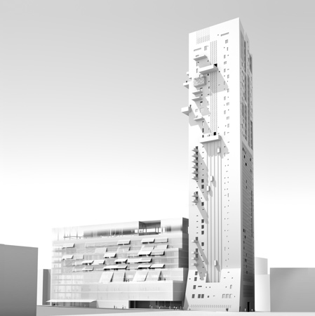 The Landmark, Beirut, by Jean Nouvel