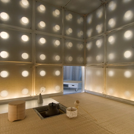Souan tea house by toshihiko suzuki dezeen for Modern japanese tea house design
