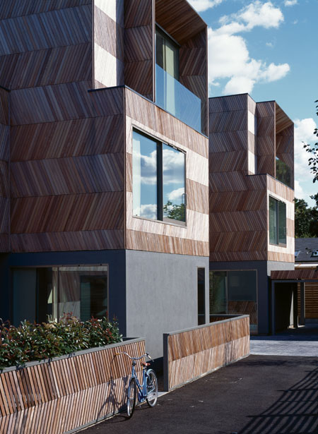 Herringbone Houses by Alison Brooks Architects
