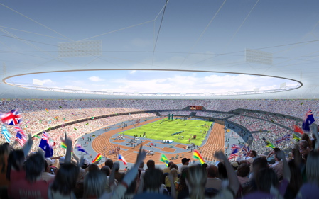 London 2012 Olympics stadium by HOK Sport