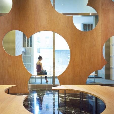 Boolean interior by Torafu architects