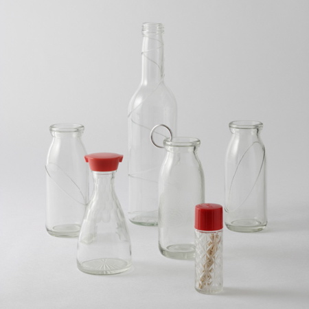 Kiriko Bottles by Torafu Architects