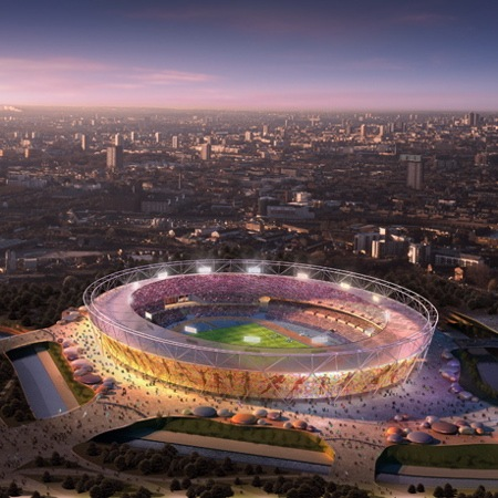 London 2012 Olympics stadium by HOK Sport