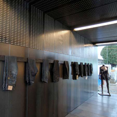 G-Star Raw pavilion at Tokyo Designer's Week