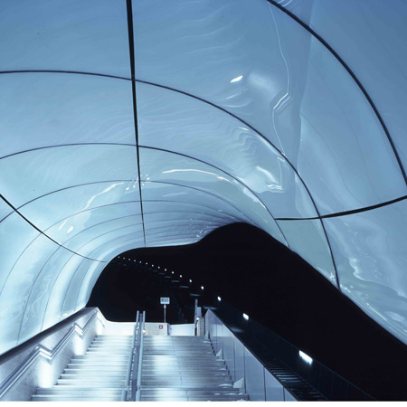 Nordpark Cable Railway by Zaha Hadid Architects