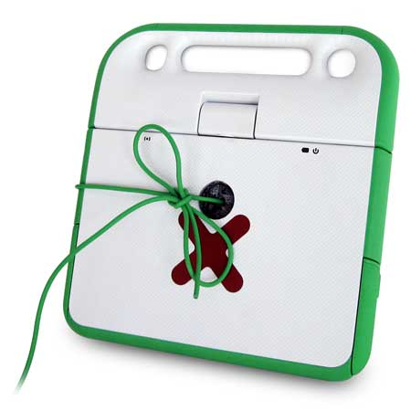 One laptop per artist: OLPC charity auction