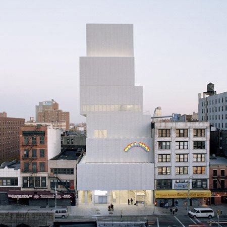 new museum by sanaa opens in new york dezeen