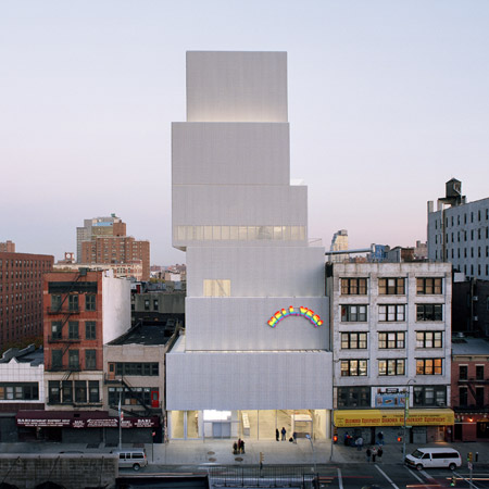 New Museum by SANAA opens in New York