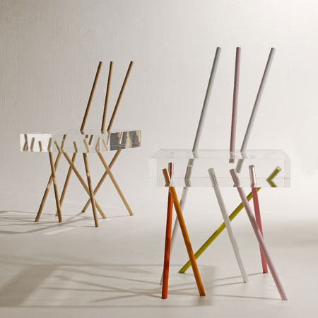 Stick Chair by Emmanuelle Moureaux