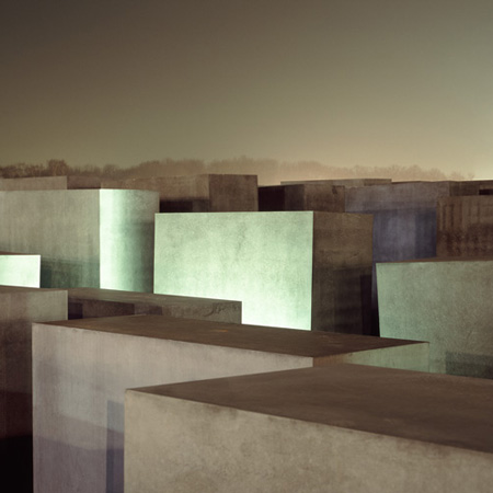 Memorial Blocks Berlin by Daniel Clements