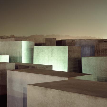 Memorial Blocks Berlin by Daniel Clements