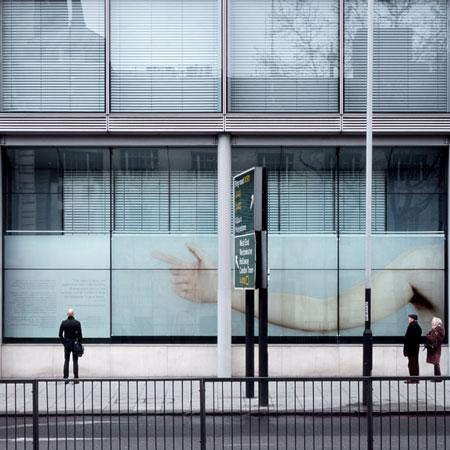 Wellcome Trust window display by Paul Cocksedge