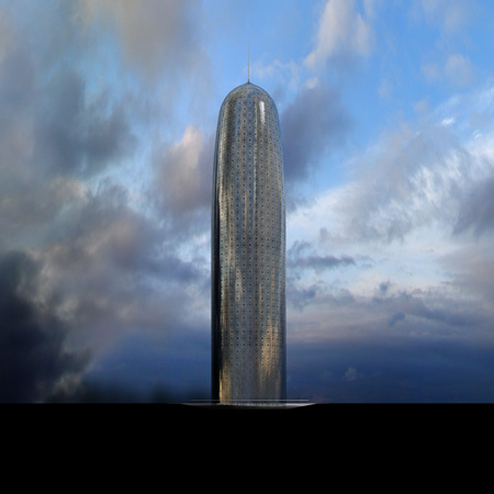 Jean Nouvel's Doha tower has been compared to a dildo