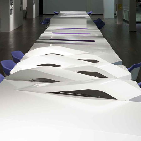 The World's Longest Table For All Cultures by UNStudio