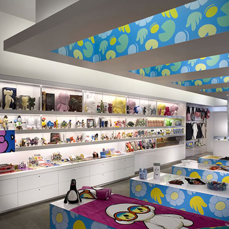 Kid Robot store by MASH Studios