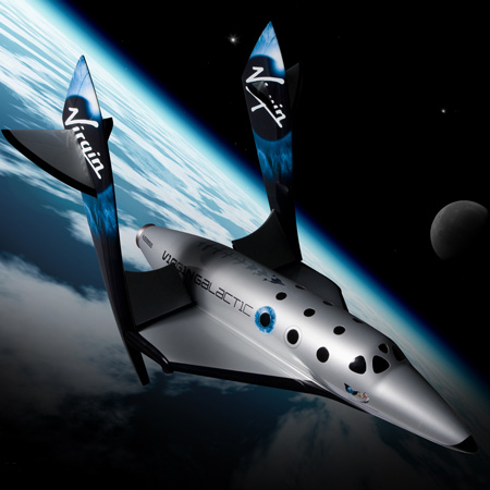 Virgin Galactic unveils SpaceShipTwo