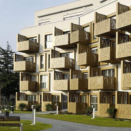 Apartment House Zvezda By Sadar Vuga Arhitekti - Apartment house images