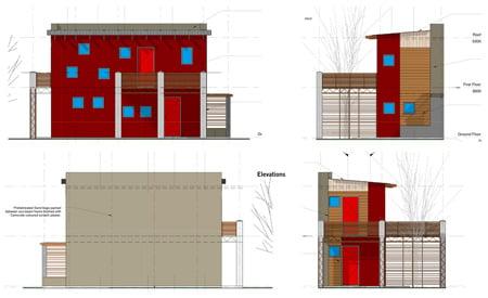 Sandbag houses by MMA Architects Dezeen