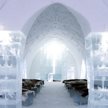 art suites at icehotel dezeen. Black Bedroom Furniture Sets. Home Design Ideas