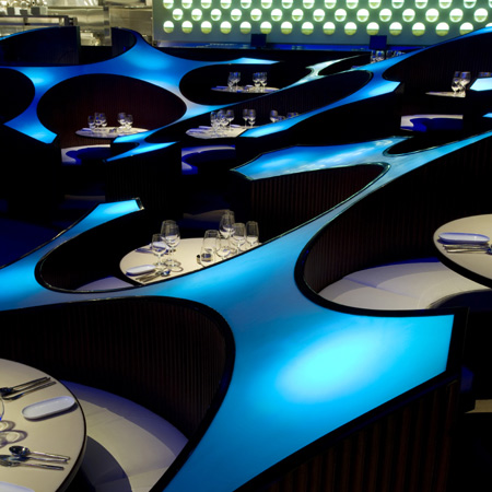 Blue Frog Lounge by Serie Architects
