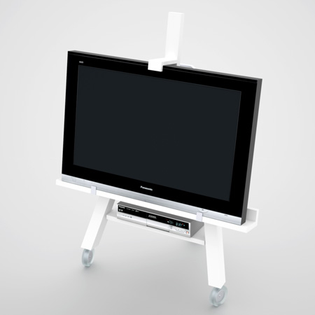 TV Easel by Axel Bjurström