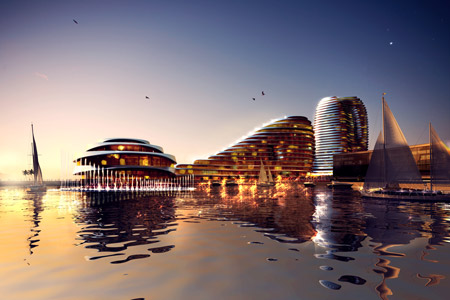 Abu Dhabi World Trade Center by Foster + Partners